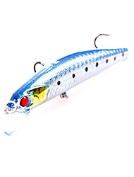 """Hard Bait / Lure kits / Fishing Lures Lure Packs / Hard Bait pcs g / 1/3 oz. Ounce mm / 3-1/2"""" inch Assorted Colors SiliconSea Fishing /"""