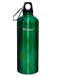 Thinker 700ml Green Stainless Steel Stylish Sports Water Bottle