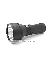 LED Flashlights/Torch Handheld Flashlights/Torch LED 1000 Lumens 3 Mode Cree XM-L T6 18650 Adjustable Focus Impact Resistant Nonslip grip