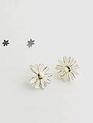 Meet You Flower Shaped Earrings