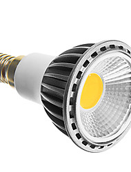E14 5 W COB 350-400 LM Cool White LED Spotlight AC 100-240 V