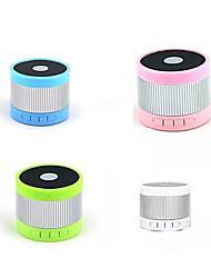 EWA A105 Мини Портативный спикер Bluetooth W / TF / Handfree Функция - (розовый / зеленый / серебристый / синий)