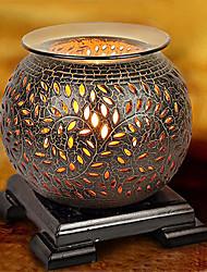 estilo retro lámpara de escritorio fragancia lámpara de cerámica con dimmer