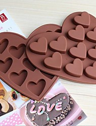 Love Shape 10 Small Heart Chocolate Ice Tray Ice Cake Molds