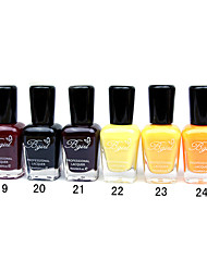 French Imports Makings Pro-environment Nail Polish NO.19-24(16ml,Assorted Color)