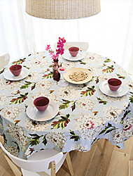 """Pastoral Style Floral Table Cloth,Fabric 31.5""""*31.5"""""""