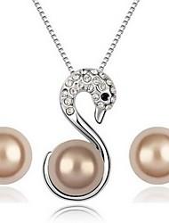 Bijoux Fashion Cammy ShanZuan Swan perles d'(dont des colliers, boucles d'oreilles)