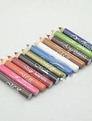 """12 pcs crayon couleur des sourcils (2.95 """"x0.35"""" x0.35 de """")"""