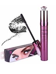 1pcs pro épaisse boucle minérale imperméable maquillage mascara noir