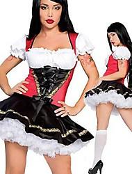 горячая германия Октоберфест девушка черный терилена костюм hallewoon