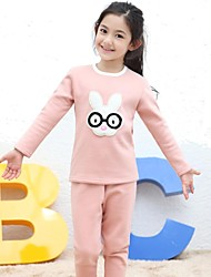 LangSha® Girl's Glasses Rabbit Warm Suit