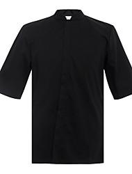 ресторанах униформа половиной рубашки рукав официанта с застежкой