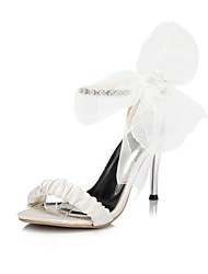 Women's Wedding Shoes Heels/Pointed Toe Sandals Wedding/Party & Evening Black/Blue/Purple/Red/Ivory/White