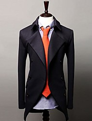 Men's Long Sleeve Jacket Work/Formal Pure
