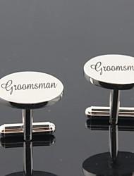 "sposo / Groomsman gemelli in ottone ""groomsman"""