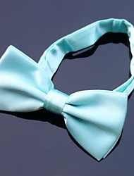 Men Vintage / Cute / Party / Work / Casual Bow Tie,Polyester Solid All Seasons