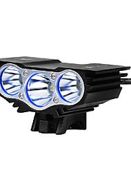 Lampes Frontales / Eclairage de Vélo / bicyclette / Lampe Avant de Vélo LED Cree XM-L U2 CyclismeEtanche / Rechargeable / penggera /