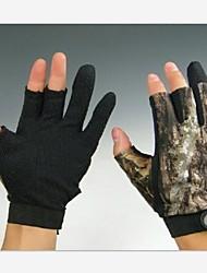 Kortom 3 vingers camouflage jacht anti slip handschoenen voor xxl grootte