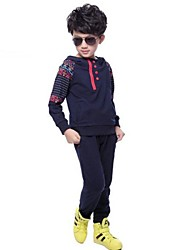 Boy's Cotton Blend/Polyester Clothing Set , Spring/Fall Long Sleeve