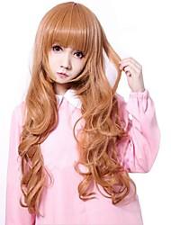 Women Wavy Hair Synthetic Full Bang Wigs