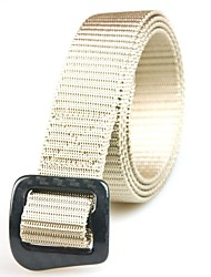 Rockway® Outdoors Unisex Carbon Fiber Buckle Nylon Khaki Top Quality Belt
