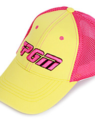PGM Mesh Pink+Yellow Sunproof Breathable Golf Hat