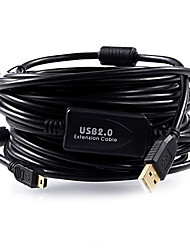 4m cabo USB 2.0 para canon / nikon 600d 550d 650D 60D 5D2 5D3 câmera 7d