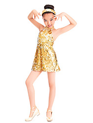 Jazz Performance Spandex And Sequins Jazz/Mordern Dance Dress For Children(More Colors)
