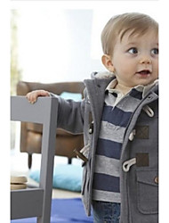 Boys' New Fashion Style Cotton Thickness Hooded Coats