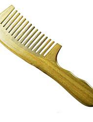 высокое качество 20x5cm Бразилия зеленый сандал деревянный гребень здоровья гребень