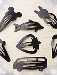 Magazine Section Edge Clip Matte Black Paint Love Bang Clip Random Delivery