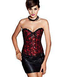 coton / dentelle plastique désossage casual / shapewear occasion de corset spécial (plus de couleurs)