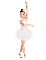 dancewear ballet tutú hermoso vestido de lentejuelas y spandex de baile para niños y damas