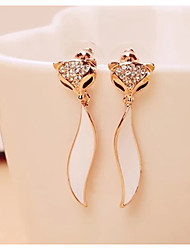 Viva Women's Diamond Animal Print Earrings