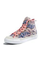 sapatos trepadeiras plataforma de lona quatro centímetros acima as sapatilhas elevador de moda feminina com lace-up mais cores disponíveis