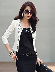 ER Fashion Rivet Long Sleeve Blazer