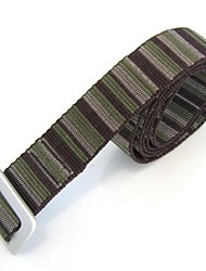 Rockway® Outdoors Unisex Alloy Buckle Jacquard Nylon Longest Wear Belts