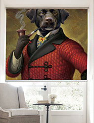 Современный джентльмен собака ролик тени