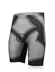 XINTOWN Unisex The High Quality Terylene Lightweight Cycling Shorts—Gray+Black