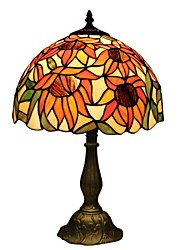Tiffany Table Lamp With Flower