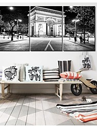Personalized Canvas Print Stretched Canvas Art City Decoration 35x50cm  40x60cm  50x70cm  Gallery Wrapped Art Set of 3
