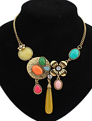 Welly Women's Multi-Color Gem Necklace