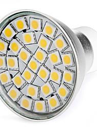 Faretti LED 29 SMD 5050 MR16 GU10 5W 300 LM Bianco caldo AC 220-240 V