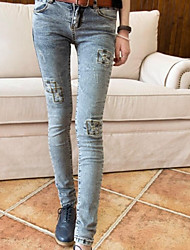 Women Stretch tight female foot trousers Pants