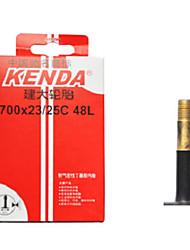 KENDA 700*23/25c Butyl Rubber AV 48mm Road Bike Tube