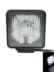27w Flood light Epistar led light bar Offroad Car LED Light Bar Square working lamp