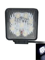 27w luce di inondazione Epistar ha condotto la barra chiara fuori strada dell'automobile Bar Square LED lampada funzionante