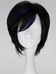 Cosplay Wigs Super Heroes / Fairytale Movie Cosplay Black Solid Wig Halloween / Christmas / New Year Female