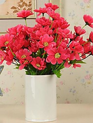 21 Head Desktop Decoration High-quality Simulation Small Cherry Blossoms