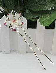 h&strass fleur accessoire de cheveux de cristal de femmes d